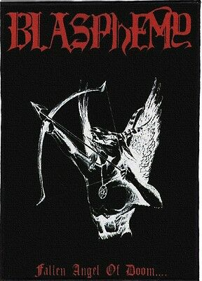 Blasphemy Backpatch / Speed-Thrash-Black-Death Metal