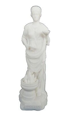 Hestia sculpture ancient Greek Goddess of the family and the state active statue