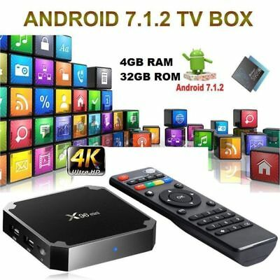 Smart Tv Box X96 Mini Android 7.1 4K 4Gb Ram 32Gb Rom Iptv +Telecomando