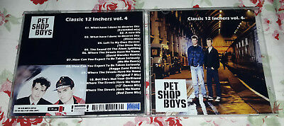 Pet Shop Boys - Classic 12 inchers collection Vol. 4 CD SPECIAL FAN EDITION
