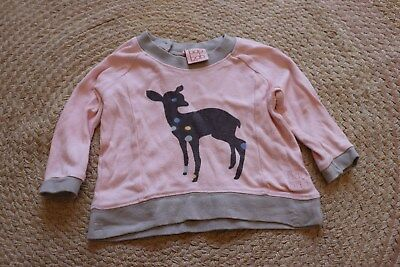 baobao organic baby girl jumper size 3-6 months