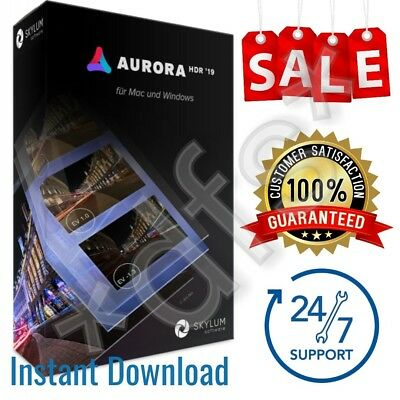 Aurora HDR 2019 | Full Licensed | For MAC OS | Instant Download |