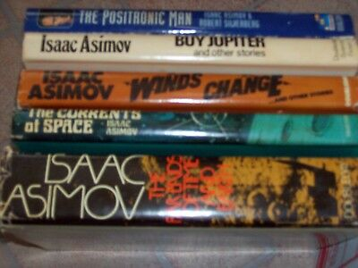 Isaac Asimov Science Fiction Book Lot