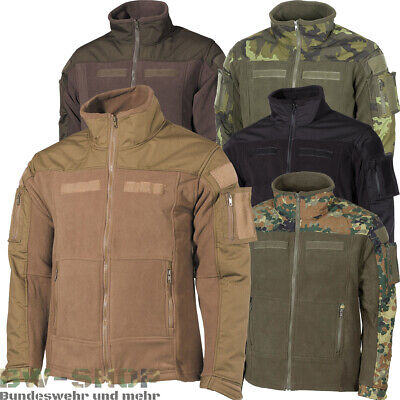 Fleecejacke Combat Neu Militär Tactical Fleece Jacke Bw Outdoor Army Bundeswehr