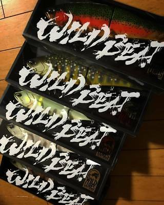 WILD LURES WILD BEAT Giant swimbait choose colors free shipping