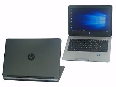 HP ProBook 645 G1 Laptop AMD A6 Quad Core 4GB Ram 128GB SSD Warranty Webcam