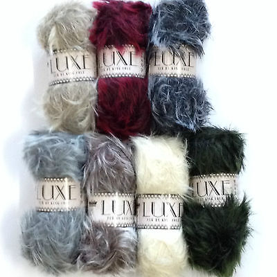 King Cole LUXE/LUXURY FUR 100g ball