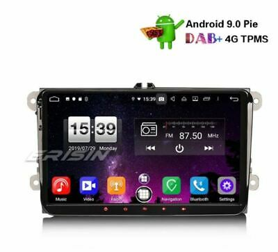"AUTORADIO 9"" Android 8.1 Octacore 4gb 32gb VW Passat Golf Touran Eos Polo Seat"