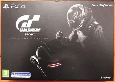 Gran Turismo Sport Collector's Edition Ps4 Nuovo Vr Compatibile Foto Reali