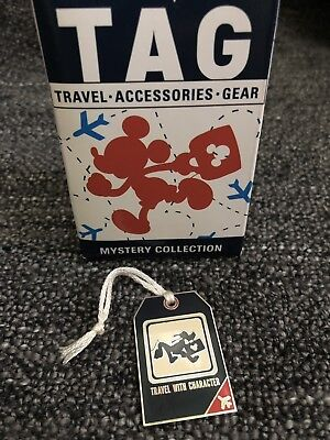 Disney Parks Pluto TAG Luggage Mystery Pin 117036 Travel Accessories Gear New