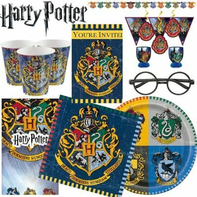 Harry Potter Birthday Party Plates Cups Napkins Balloons Tablecover ETC