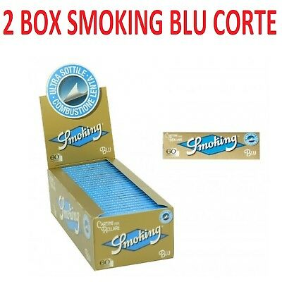 6000 CARTINE SMOKING BLU CORTE + accendino