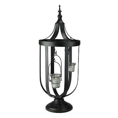 "Melrose 22"" Decorative Antique-Style Bronze Birdcage Glass Votive Candle Holder"