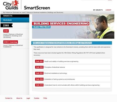 City & Guilds Electrical 2365 Level 2 Course Material