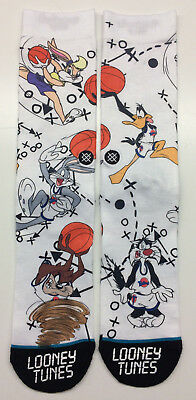 Stance x Space Jam Tune Squad Crew Socks Large Mens 9-12 Looney Tunes
