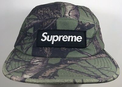 c9cdbdf2 Supreme 2012 Olive Real Tree Cap Camo Camp Hat Rare Green Camouflage  Outdoor NYC