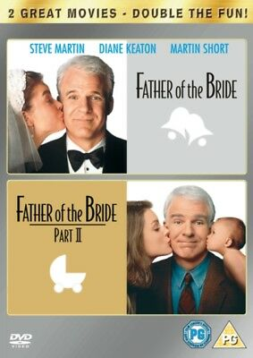 Father of the Bride/Father of the Bride: Part 2 (DVD 2 DISC BOX SET) *NEW*