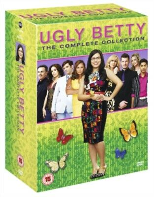 Ugly Betty - Complete Season 1-4 (DVD 2 DISC BOX SET) *NEW/SEALED* FREE P&P