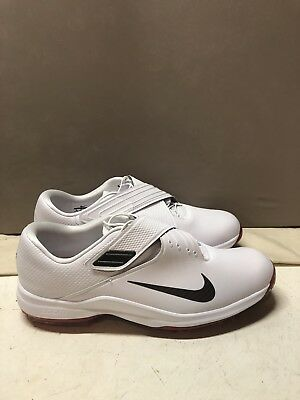 NIKE TW  17 Tiger Woods Golf Shoes White Red 880955 100 Men s 12 New ... 398167a7b