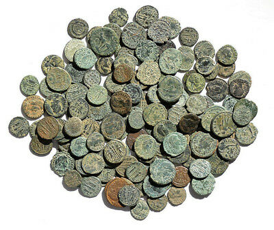Offer Lot 3 Roman Coins, 1 Bid = 3 Coins. Constantinian Dynasty, Original Patina