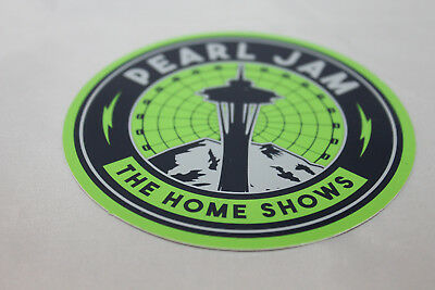 Pearl Jam 2018 Seattle Home Shows - Logo Sticker