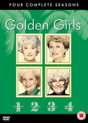 The Golden Girls: Seasons 1-4 (DVD 15 DISC BOX SET, 1989) *NEW/SEALED* FREE P&P