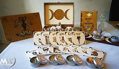 Moon Box, Witchcraft, spells, wicca, box sorcery, dea madre