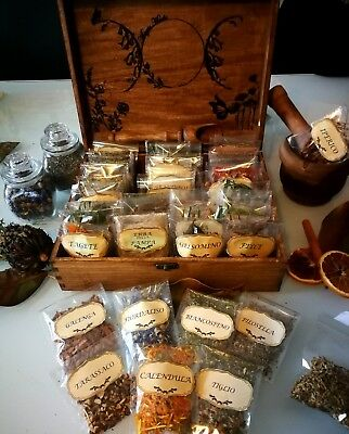 Ritual Herbs Box (70 Erbe), wicca, witchcraft