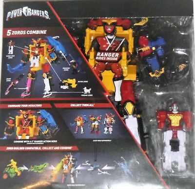 Power Rangers Super Ninja Steel DX Megazord Figure ***BRAND NEW*** FREE SHIPPING