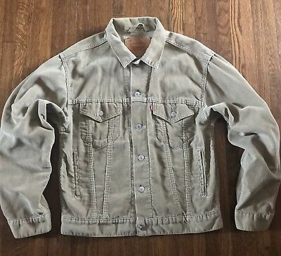 90s Levi's Courdoroy Jacket Men's Small Light Weight