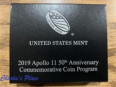 2019 Apollo 11 50th Anniversary Proof Clad Half Dollar (19CE)
