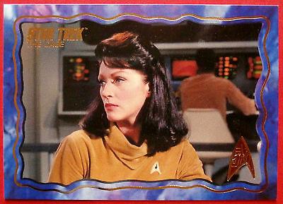 "STAR TREK TOS 50th Anniversary - ""THE CAGE"" - GOLD FOIL Chase Card #4"