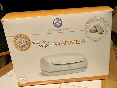 Warmies Wipes Warmer + 20 Reusable Wipes Prince Lionheart Warmies Wipes Warmer