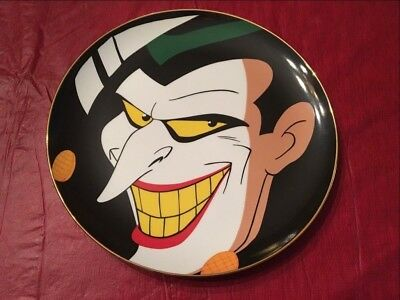3aaf24632 Warner Bros Dc Comics The Joker Batman Animated Numbered Collector Plate
