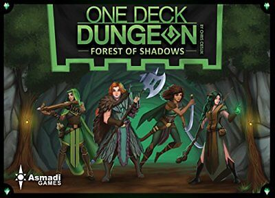 One Deck Dungeon - Forest of Shadows Games Giocattolo  0859358006086 (rtg)