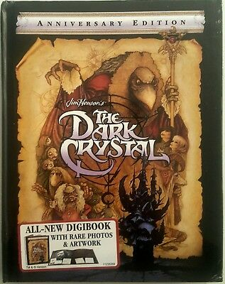 THE DARK CRYSTAL ANNIVERSARY EDITION with DIGIBOOK * BLU-RAY + DIGITAL * NEW!