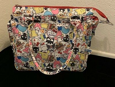 Ju-Ju-Be Be Classy Diaper Bag Hello Sanrio - New with tags (Missing Change Pad)