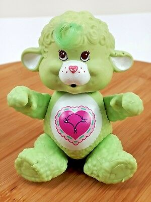 """Vintage Kenner Care Bears Cousin Gentle Heart Lamb Poseable No Accessories 3.75"""""""