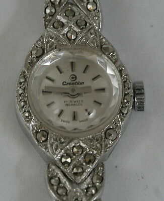 Vintage Art Deco Creation Ladies Wristwatch Swiss