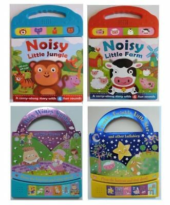 Noisy Jungle Farm Twinkle Twinkle & Incy Wincy Spider Sound Books Ages 0 Months+
