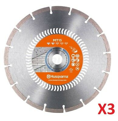 Husqvarna K760 K770 Diamond Blade for Concrete Cutting - 3 x blades