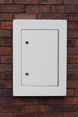 Steel Overbox - Repair Solution For Elec Meters Covers Upto 650mm x 450mm x 50mm
