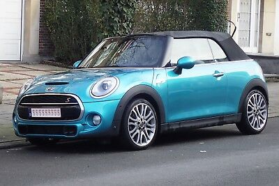 Mini Cooper S Cabriolet Caribean Blue, Full option ; 2 l essence, 192 CH