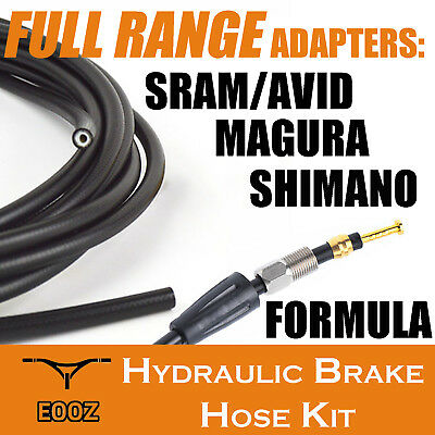 2m Hydraulic Hose for Avid Shimano Made with Kevlar 8 Colours Giant Magura