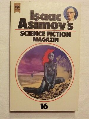 ISAAC ASIMOVS SCIENCE FICTION MAGAZIN #16 von Friedel Wahren (Hrsg.)