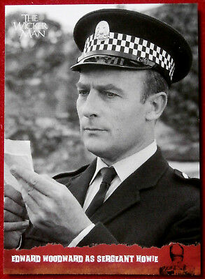 THE WICKER MAN Card # 40 - EDWARD WOODWARD AS SERGEANT HOWIE - Unstoppable Cards