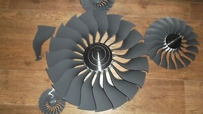 JET ENGINE FAN Turbine Boeing RC model Aircraft gliderDrone