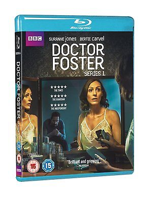 Doctor Foster - Series Season 1 (Blu-ray, 2 Discs, Region Free) *NEW/SEALED*