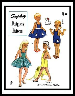 16bb38c332 SIMPLICITY 8267 Sewing Pattern SUNSUIT PLAYSUIT ROMPER UNISEX GIRL BOY  Toddler