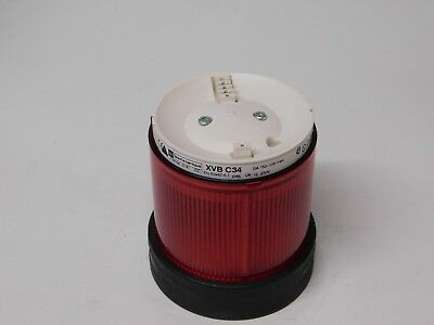 Telemecanique XVB C34 Harmony Stack Light Tower Red Modular Signal